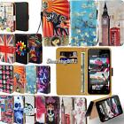 Leather Flip Card Wallet Stand Cover Case For Various Yezz Andy SmartPhones