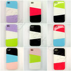 Hard Phone Slide Case Cover Mix and Match Three Parts for iPhone 4 / 4S / 4G LOT