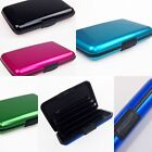 Waterproof Smooth Pocket Business Id Credit Card Holder Wallet Card Case