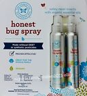 The Honest Co. Bug Spray Repel Insects 100% Organic Essential Oils, 8 or 4 FL OZ