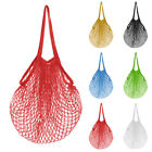 Reusable Home String Shopping Grocery Bag Shopper Cotton Mesh Net Woven Tool