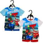 Boys Official Paw Patrol Top & Shorts Pyjama Set New Kids PJs outfit 3-6 Years