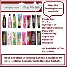 POWER TAN - SUNBED TANNING LOTION CREAM -  SACHET,  BOTTLE, TUBE SAVE UP TO 50%