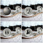 Star Wars new mens silver cufflinks set in box for weddings, gift, prom $15.99 USD on eBay