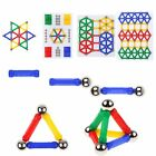 DIY Three Dimensional Magnetic Building Blocks Sticks Construction Toy  For Kids