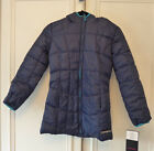 LADIES / GIRLS NEW HAWKE & CO NAVY OR BLACK  HOODED SPORT JACKET SIZE VARIOUS