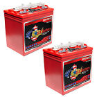 2x US8VGC 8V 170Ah Group Size GC8 Flooded Deep Cycle Batteries For RVs, Boats