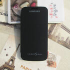 1 Pc Flip Smart S-VIEW PU+PC Battery Case Cover For Ssmsung GALAXY S4 Mini I9190