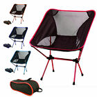 Portable Lightweight Foldable Camping Chair Outdoor Hiking Backpacking Patio Hot