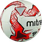 5 Mitre Impel Training Footballs Size 3,4,& 5 White Red