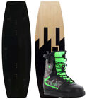 CTRL THE HUSTLE FINLESS 136 2015 inkl. IMPERIAL Boots black camo Wakeboard Set