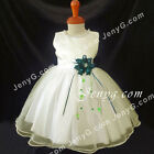 NLIGN2 Baby Infants Wedding Holiday Graduation Prom Formal Pageant Gown Dress