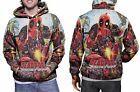DEADPOOL Marvel Collection New Hoodie Mens RARE ITEMS
