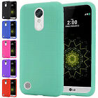For LG K20 Plus K20 V Harmony Grace Rugged Gel Soft Silicone Skin Cover Case