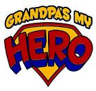 Daddy or Grandpa my hero kid TShirt robber infant toddler cotton US size new