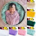 Newborn Baby Faux Fur Stuffer Mat Photography Photo Props Backdrop Blanket Rug