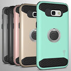For Samsung Galaxy A7 2017 A720 Hybrid Armor Protective Ring Phone Cover Case