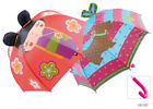 Drizzles Kids 3D Ears Umbrella Choose Japanese Doll or Scottie Dog