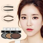Women Natural Eyebrow Powder Dust Stamp Makeup Brow Palette Shadow Definition