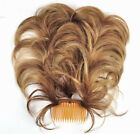 New! Bendable Three-Wire Flexible Plastic Comb Hairpiece UpDo CHOOSE YOUR COLOR