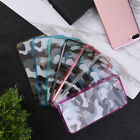 Camo Transparent Acrylic Cell Phone Cover Case Soft Shell for iPhone 7 plus