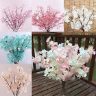 CH Wedding Fake Flower Artificial Bouquet Cherry Blossom Floral Home Party Decor