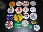 Vintage Sports Pins Button College Football Liberty Bowl Many to choose from!