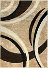 Large Modern Colours Soft Thick Medium Rug Mats Light Dark Brown Floor Rugs