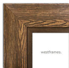 West Frames The Lodge Picture Frame Distressed Natural Tan Brown 3""