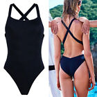 Women One-Piece Swimsuit Beachwear Swimwear Padded Monokini Bikini Bathing AP