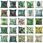New Home Sofa Decor Vintage Cotton Linen Waist Throw Pillow Case Cushion Cover