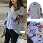 2017 Fashion Women's Casual Long Sleeve T Shirt Summer Loose Tops Blouse