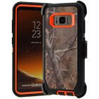 For Samsung Galaxy S8 / S8 Plus Defender Rugged Case (Clip Fits Otterbox) CATROR