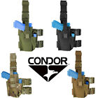 Condor TLH Tactical Universal Drop Leg Pistol & Magazine Double Strap Holster