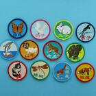 12 Patch Butterfly Animal Sew on Applique Badge Embroidered Motif Insect Garden