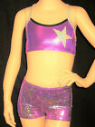 STUNNING LEOTARD/GYMNASTICS/DANCE - CROP SET - NEW - Girls 4,  12 !!!