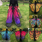 US Women Soft Butterfly Wing Cape Dress Scarf Long Wrap Shawl Scarves Cover up