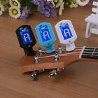 Electronic Chromatic Digital Tuner Guitar Bass Ukulele LCD Display Clip on
