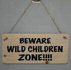 Personalised Hanging Sign Plaque Wood Home Garden Den Shed Pirate Kids Adult New