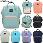 US Waterproof Baby Diaper Nappy Backpack Large Capacity Mummy Changing Bag New