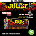 Joust Arcade Marquee Stickers Graphic / Laminated All Sizes