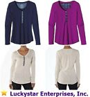 Patagonia Women's Necessity Long Sleeve Henley Shirt - $65 - NEW w/tags - 54470