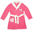 Girls Despicable Me Minions Heart Dressing Gown Bath Robe Cerise 4 Years