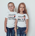 Personalised  kids pirate sibling t-shirt/Vest brother sister set