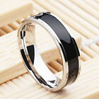 Men Customize Titanium Stainless Steel Ring US Size 7-12 Charm Lot