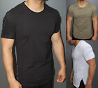 A.F.E.X D.G Y&R STAR Casual Deltra Ribbed Ridges Slim Muscle Fit Fitted T-Shirt