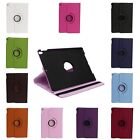 "360 Rotating Flowers Case Smart Stand Cover For IPad Mini 1 2 3 /4/10.5"" Pro 1pc"