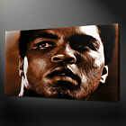 MUHAMMAD ALI SEPIA BOXING ICON SPORT WALL ART CANVAS PRINT PICTURE READY TO HANG