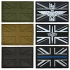 TACTICAL MORALE PATCH UNION JACK PVC BADGE UK BRITISH ARMY PARA MARINE POLICE