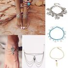 Women's Jewelry Crystal Shiny Ankle Bracelet Gold Silver Anklets New Arrival